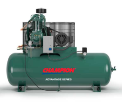 HR5-8 Champion 5 HP 80 Gallon Horizontal Advantage Series Air Compressor Fully Packaged (SKU: HR5-8)