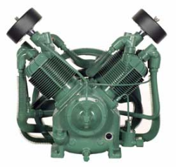 R-30D Champion 7.5--10--15 HP Two Stage Splash Lubricated Basic Compressor Pump (SKU: R-30D)