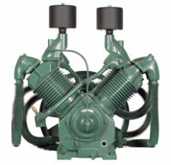 R-70A Champion 20--25--30 HP Two Stage Splash Lubricated Basic Compressor Pump (SKU: R-70A)