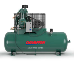 HR5-8 Champion 5 HP 80 Gallon Horizontal Advantage Series Air Compressor Fully Packaged