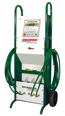 Nitrogen Auto Fill Cart Tire Inflation System