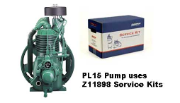 PL15--Champlub Synthetic Service Kit 3-5-7.5 HP