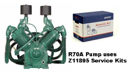 R70--Champlub Synthetic Service Kit 20-25-30 HP