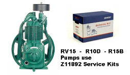 R10--R15--RV15--Champlub Synthetic Service Kit 1.5-2-3-5-7.5 HP