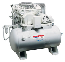 champion air compressors air dryers service kits parts manuals champion oil less compressors