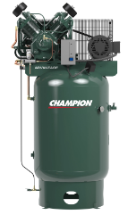 VR10-12 Champion 10 HP 120 Gallon Vertical  Advantage Series Air Compressor Fully Packaged (SKU: VR10-12)