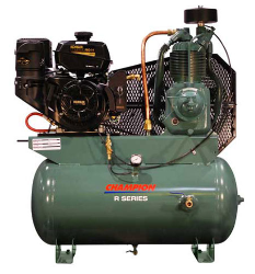 14 HP Kohler 30 Gallon Tank Gas Driven Champion Air Compressor (SKU: HGR7-3K)