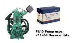 PL40--Champlub Synthetic Service Kit 15 HP (SKU: Z11900)