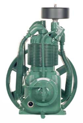 R-10D Champion 1-1/2- 3 HP Two Stage Splash Lubricated Basic Compressor Pump (SKU: R-10D)