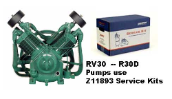 R30--RV30--Champlub Synthetic Service Kit 7.5-10-15  HP (SKU: Z11893)