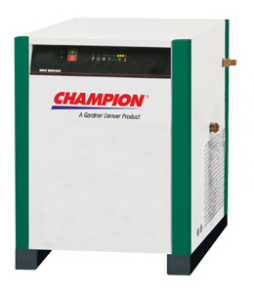 100 CFM / 25 HP Air Compressor Champion Refrigerated Air Dryer