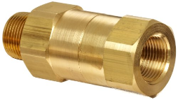 "1-1/2""  OSHA Flow Check Safety Valve - 640-720 CFM"
