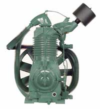 R-40A Champion 15 HP Two Stage Splash Lubricated Basic Compressor Pump