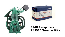 PL40--Champlub Synthetic Service Kit 15 HP