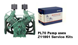 PL70--Champlub Synthetic Service Kit 20-25-30 HP