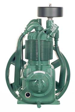 R-10D Champion 1-1/2- 3 HP Two Stage Splash Lubricated Basic Compressor Pump