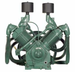 R-70A Champion 20--25--30 HP Two Stage Splash Lubricated Basic Compressor Pump