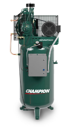 VR5-8 Champion 5 HP 80 Gallon Vertical Advantage Series Air Compressor Fully Packaged