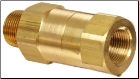 "1"" OSHA Flow Check Safety Valve  - 280-320 CFM"