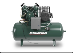 HRA15-12 Champion 15 HP 120 Gallon Horizontal  Advantage Series Air Compressor Fully Packaged
