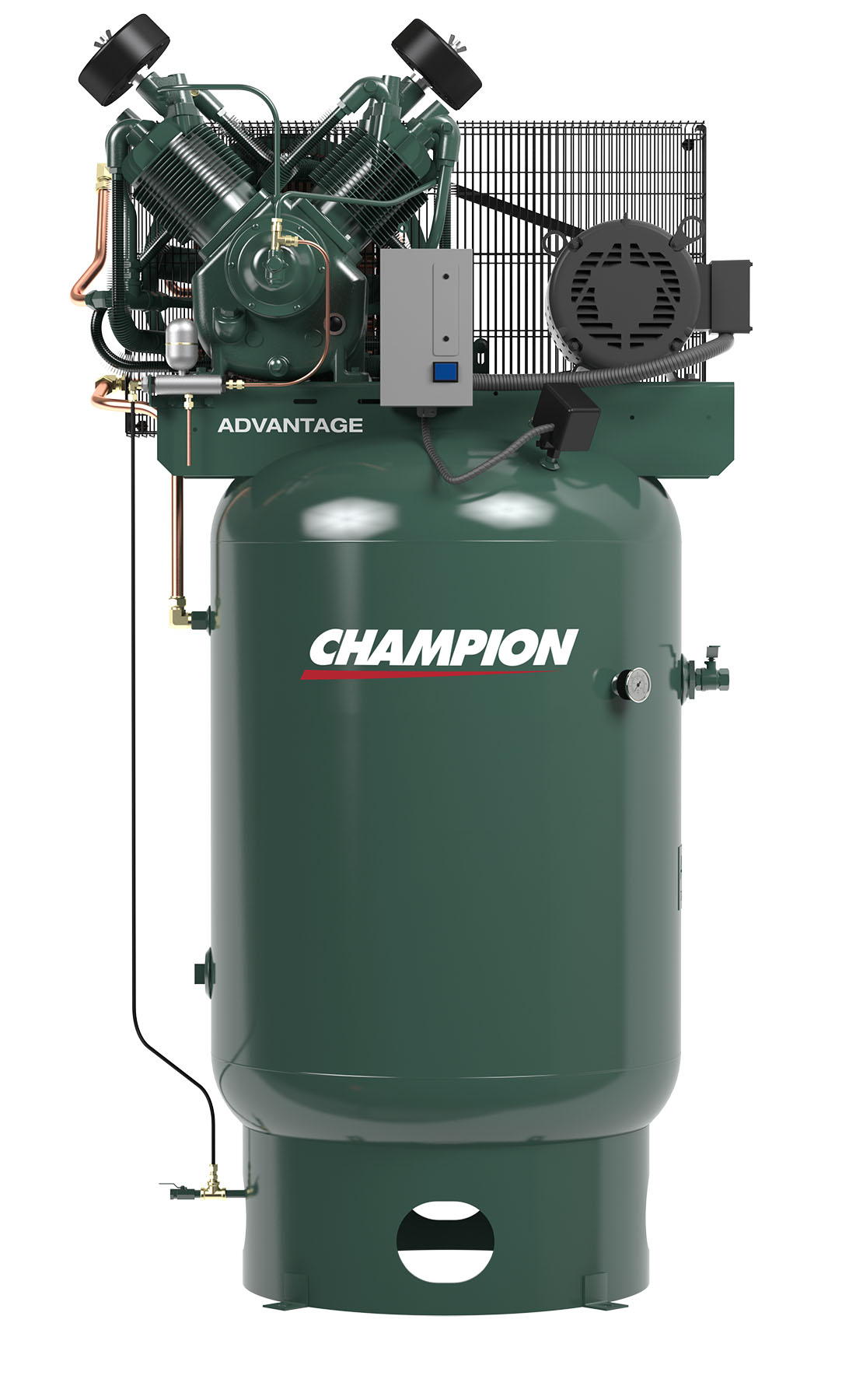 10 Hp Vertical Air Compressor 120 Gallon Compressor