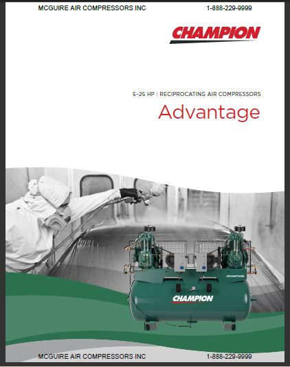 Champion Advantage Air Compressor Brochure