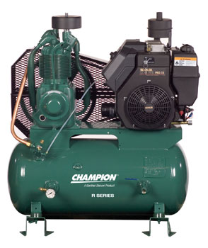Champion Gas Diesel Engine Driven Air Compressors 8 35 Hp
